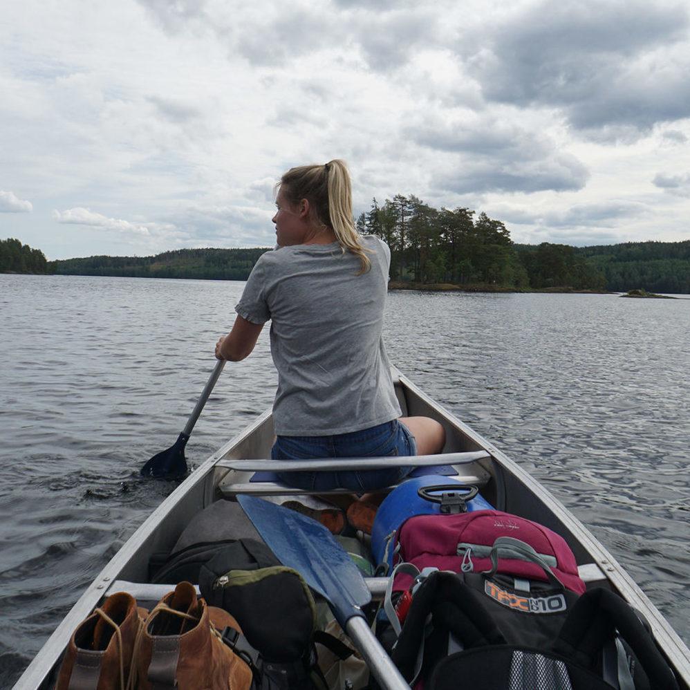 vierkant kanoen in zweden atravelnote.nl reisblog