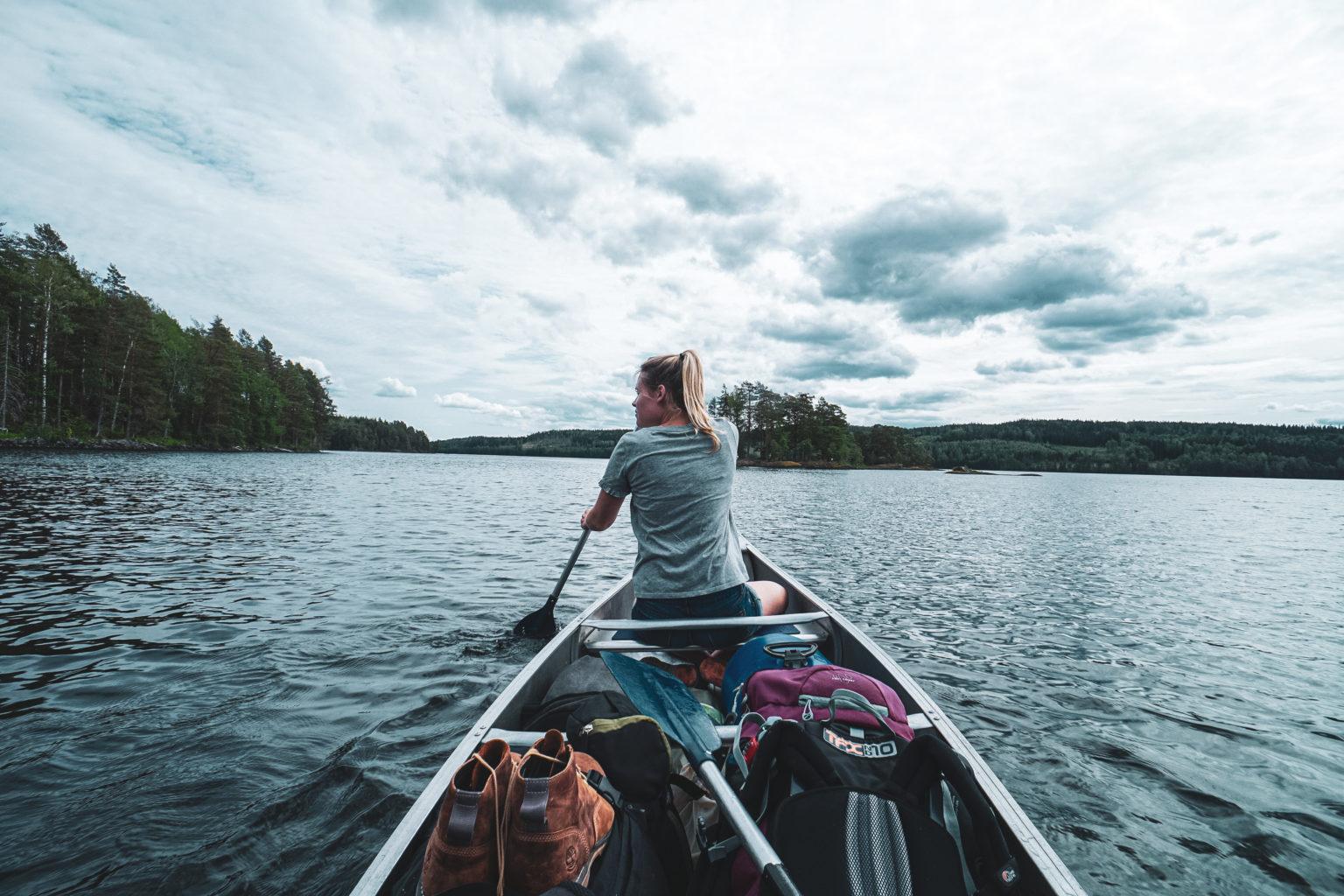 kanoen in zweden a travel note