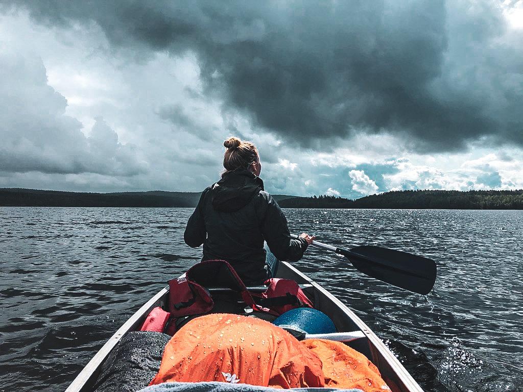 varmland ian kanoen zweden travel note