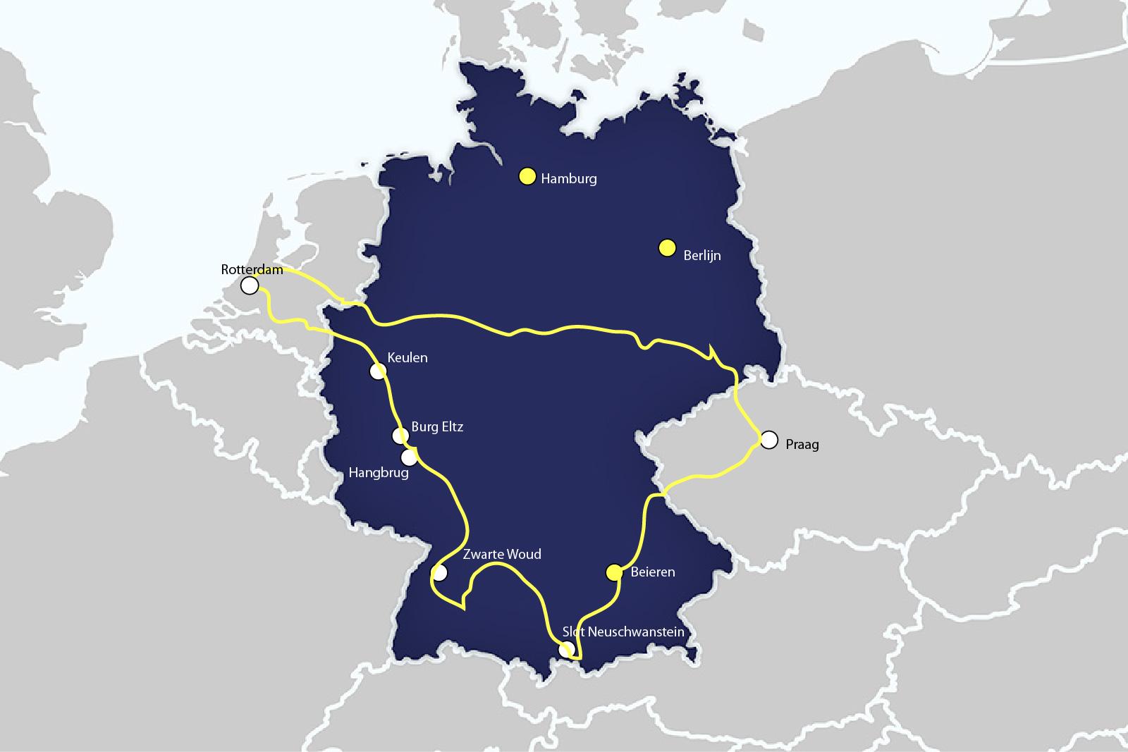 roadtrip duitsland - reisroute duitsland - atravelnote.nl