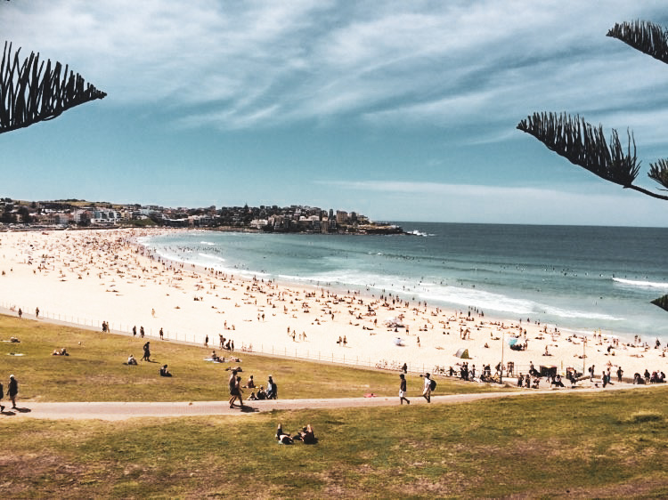 strand australie travel note
