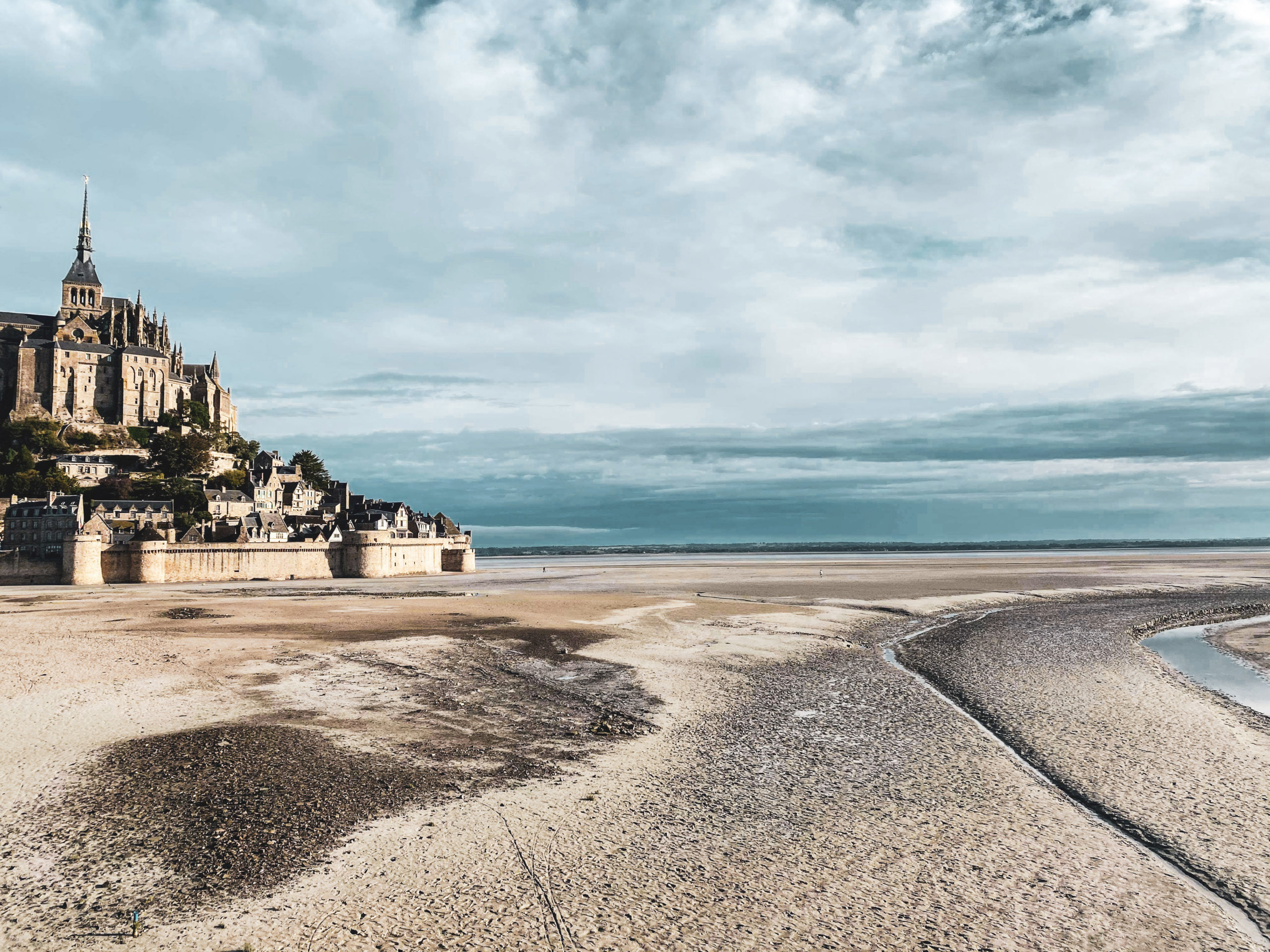 travelnote reisblog normandië - mont saint michel