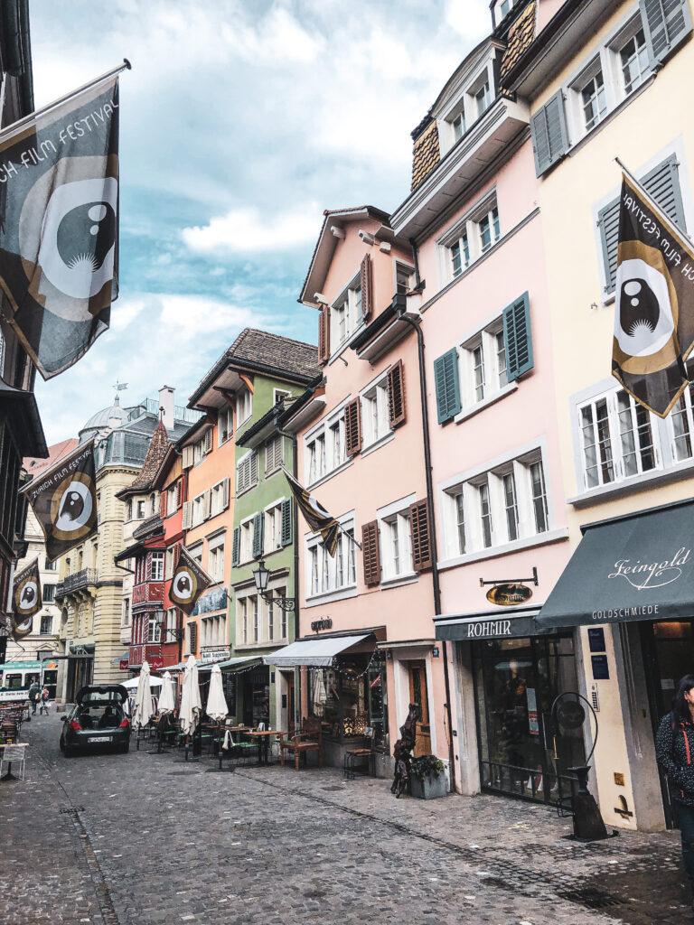 Altstadt Zürich - reisblog a travel note
