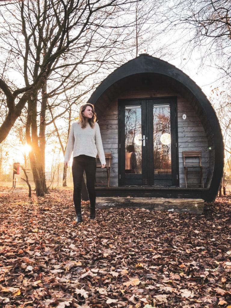 Overnachten in een tiny house in Lauwersoog