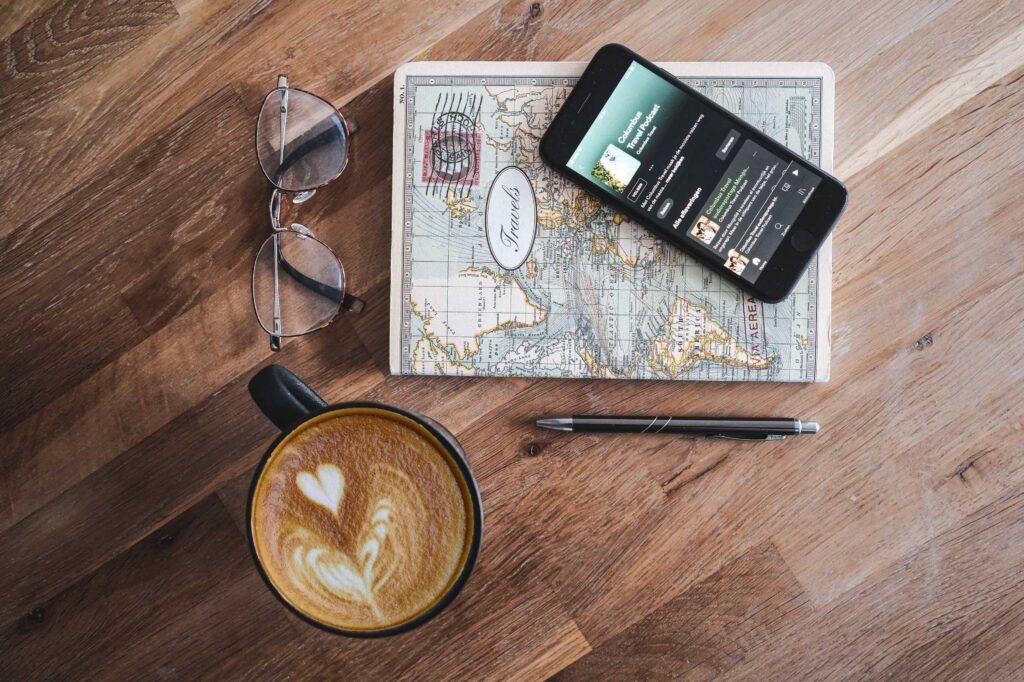 podcasts over reizen - travelnote
