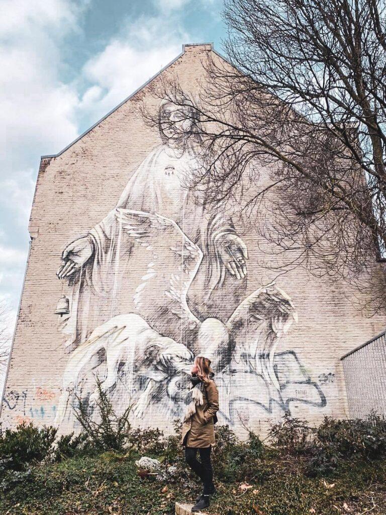 Bekijk de murals van Heerlen