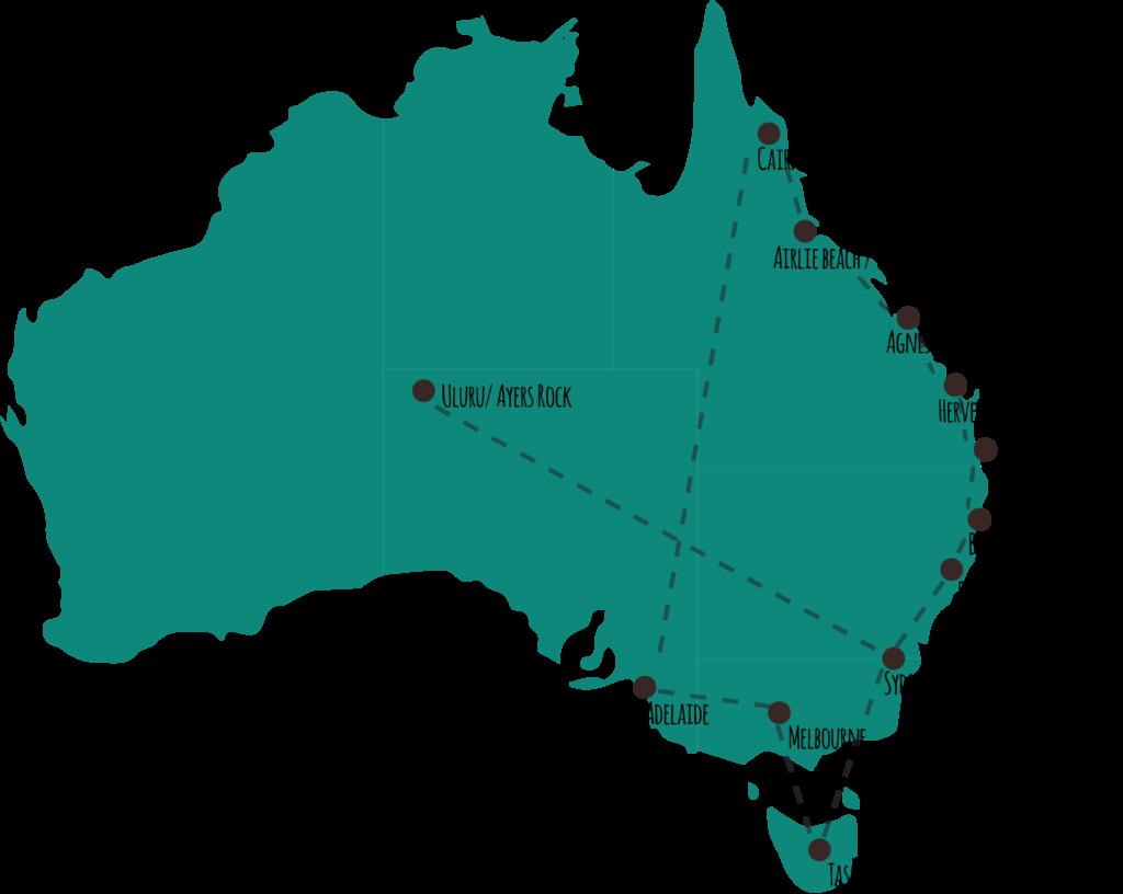 ultieme route door australie - reisblog a travel note