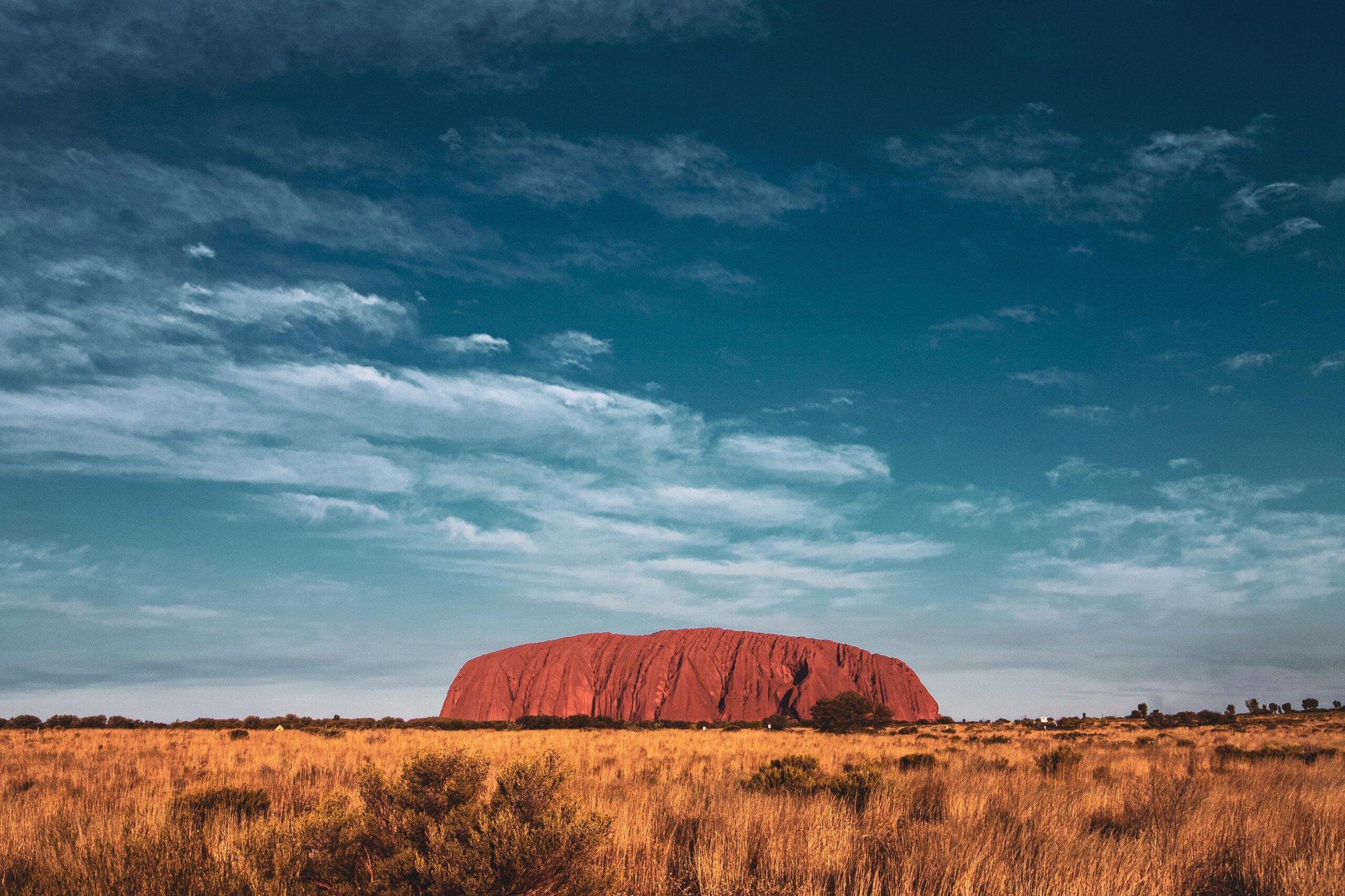 reisroute door australië