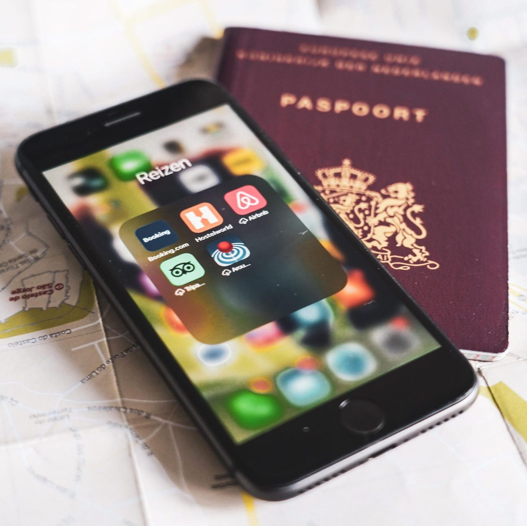 mobiele apps voor mee op reis - travelnote