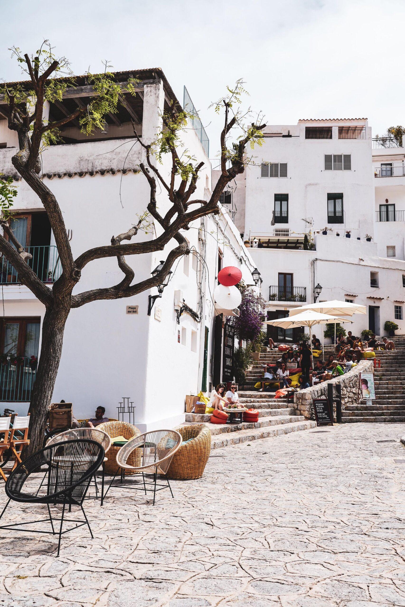 Dalt Vila oudste stadsdeel Ibiza