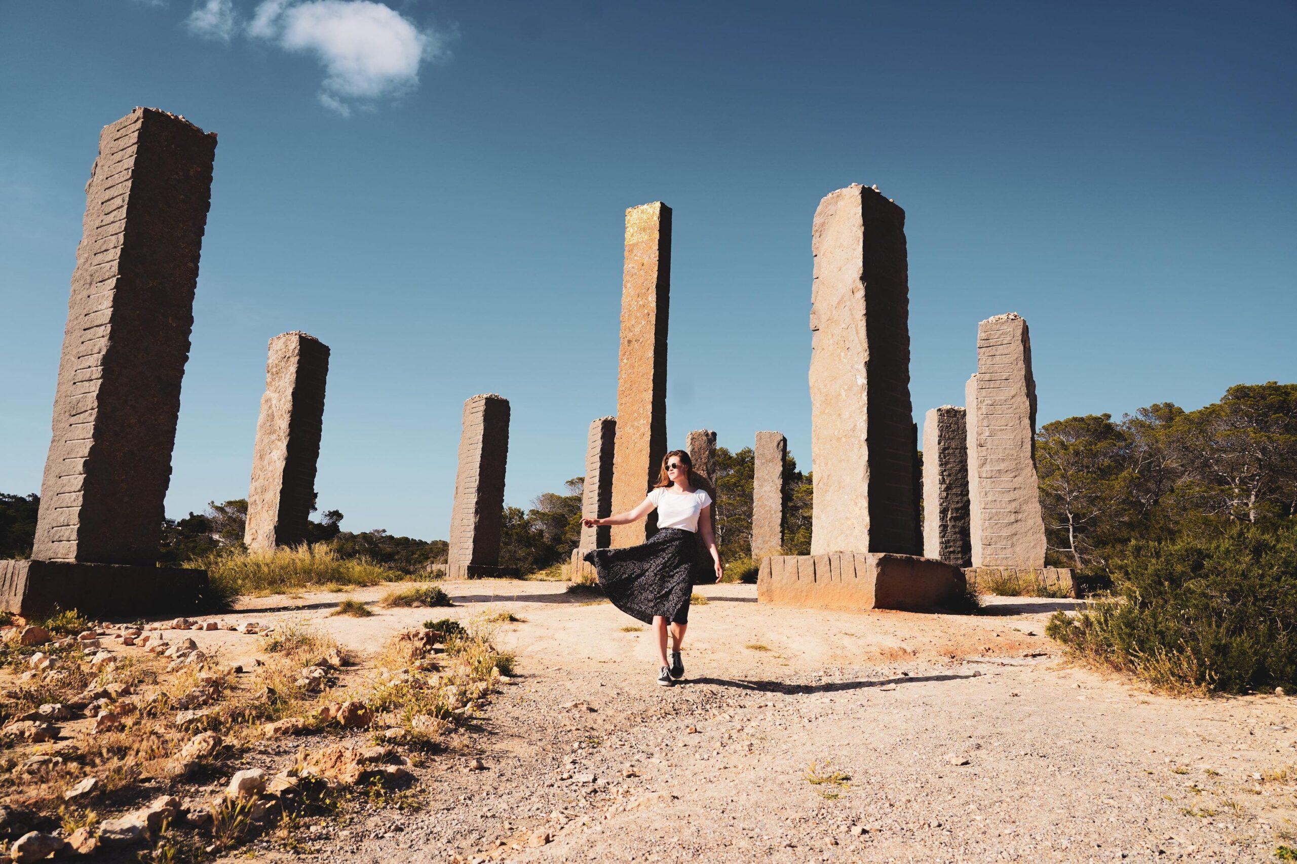 Time and Space kunstwerk Ibiza