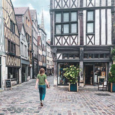 frankrijk normandie a travel note
